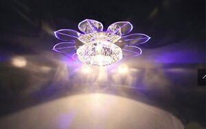 Crystal-Diameter-20CM-LED-Chandelier-Indoor-Ceiling-Fixture-Light-Lighting