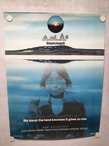 Inuit-Cultural-Institute-Poster-034-We-Honor-The-Land-Because-It-Gives-Us-Life-034