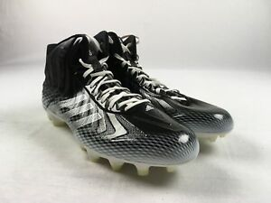 premium selection e4690 11713 Image is loading NEW-adidas-Crazyquick-Mid-Black-White-Cleats-Men-