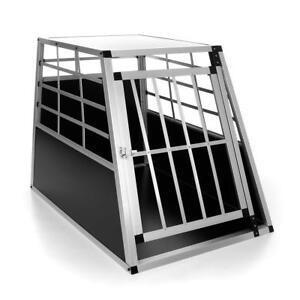 Boîte de transport pour chien Boîte pour chien M Boîte en treillis Boîte de transport Alubox Boîte de transport Autobox Alu
