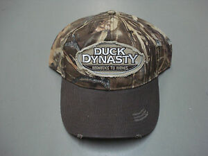 New Men s Duck Dynasty Camouflage Adjustable Worn Look Baseball Cap ... a04f4a322e6
