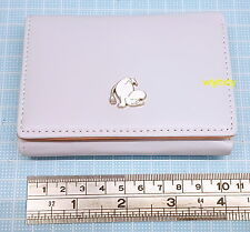 Moomin Characters Mini Wallet Light Purple Grey Color