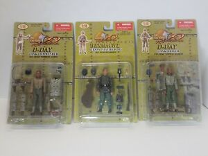 THE-ULTIMATE-SOLDIER-1-18-3PACK-D-DAY-PVT-HARRAS-SGT-JAMES-SGT-WILNDORFF