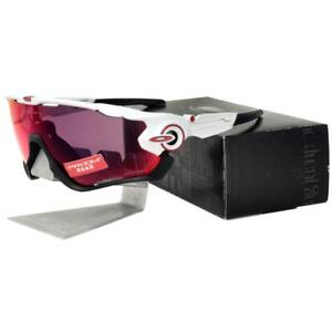 4de06623a9b Oakley OO 9290-05 JAW BREAKER Polished White Prizm Road Mens Sports ...