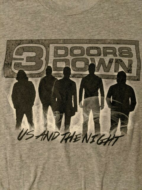 3 Doors Down US And The Night Tour concert Dates 2016 grey ...