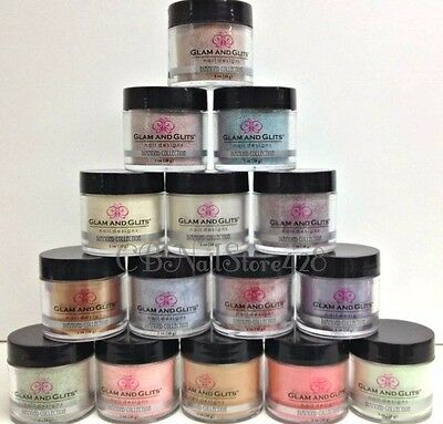 Glam & Glits - DIAMOND Acrylic Collection Shades #43-72 - Pick Any Color