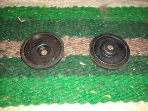 OEM Riccar Right /& Left Rubber End Caps Brushroll Cover