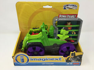 IMAGINEXT-Lex-Hauler-Truck-Superman-Dc-Super-Friends-Missing-Lex-amp-Projectiles