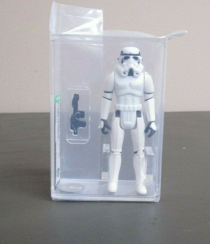 Stormtrooper 1977 STAR WARS Graded AFA 80 NM HK Coo JJ New Case