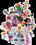 PMW-Playmobil-70243-1X-FIGURES-SERIE-17-CHICAS-GIRLS-100-NUEVA-NEW-Envio-Rapido miniatura 1