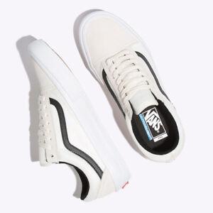 Vans-Ballistic-Old-Skool-Pro-Skate-Sneakers-Cream-White-VN0A45JCVG1-Size-US-4-13