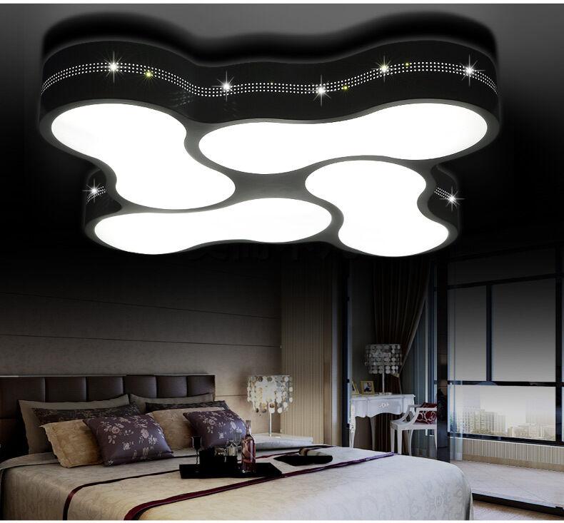 LED Deckenleuchte 2029  Fernbedienung  Lichtfarbe Helligkeit einstellbar A+