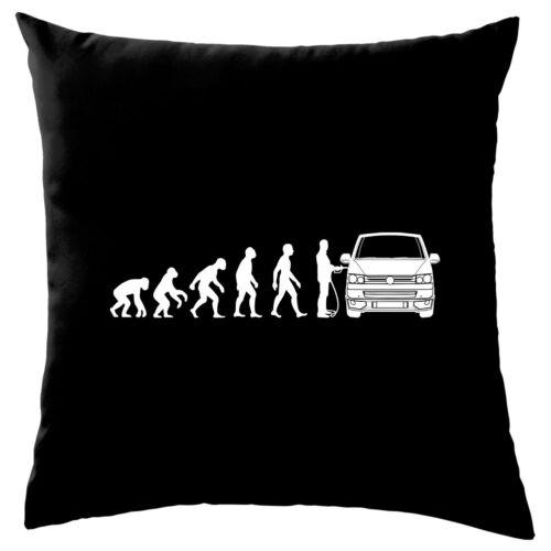 "Evolution Of Man T5 Campervan Cushion - - 8 Colours 16/"""