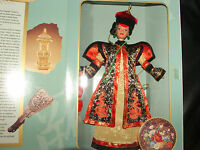 Barbie Doll Chinese Empress Asian W/ Clothes Shoes Accessories The Great Eras