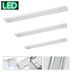 Bueroleuchte-LED-Buerolampe-Garage-Werkstatt-Keller-Leuchte-Lichtleiste-Decke