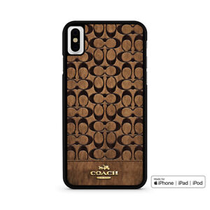 official photos eba2f 74ac1 Details about Coach Nice Logo Phone Case For iPhone 6/6s 7 8 Plus X Xs Max  Xr