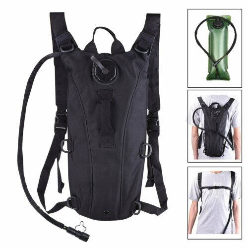 Outdoor Hydration Pack w// 3L Backpack Water Bladder for Hunting Climbing Running