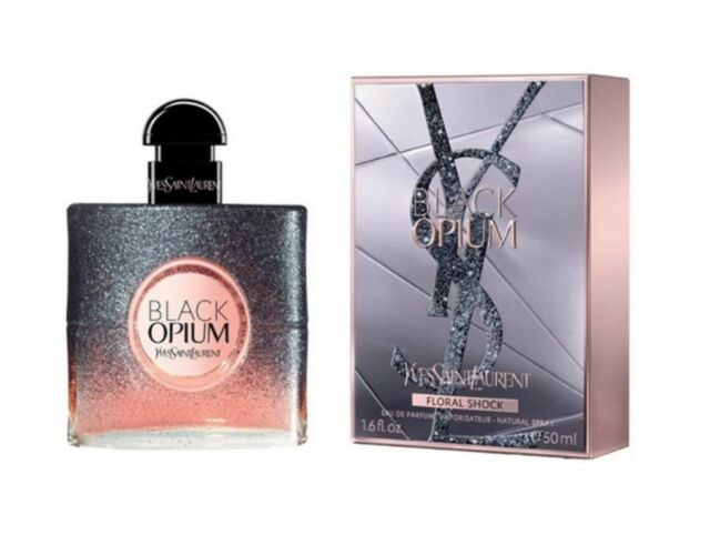 BLACK OPIUM FLORAL SHOCK YVES SAINT LAURENT 50ML EDP WOMEN NEW SEALED BOX.