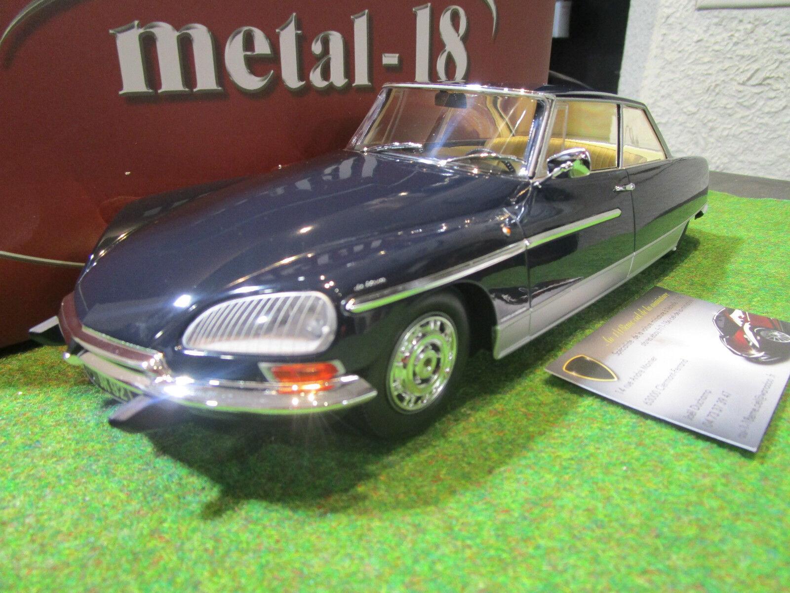 alta calidad CITROËN DS 21 CHAPRON LE LEMAN LEMAN LEMAN 1968 1 18 METAL-18 18004A voiture miniature coll.  El ultimo 2018