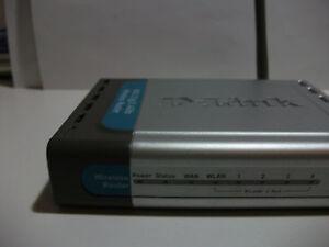 D-Link-Wireless-DI-524-G-Router-802-11g-2-4-GHz