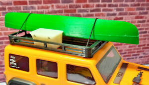 Canoe-and-Cooler-with-Roof-Rack-1-24-scale-SCX24-3d-printed-RC-prop-USA