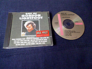 CD Gordon Lightfoot Best Of Greatest Hits Collection Essential 10Songs CURB Sony