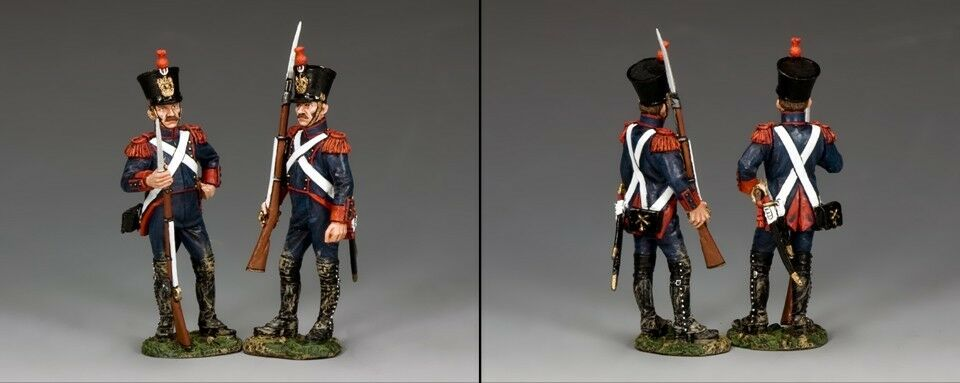 KING AND COUNTRY French Line Artillery Armed Gunners NA333