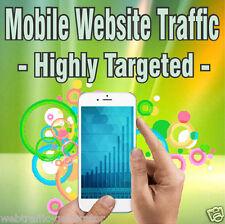 1,000 visitantes Real! altamente orientada móvil tráfico! IOS y/o Android