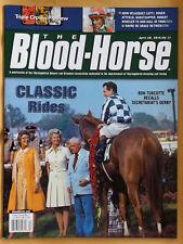 SECRETARIAT, WAR ADMIRAL ON COVER OF 2012 BLOOD HORSE, HORSE RACING MAGAZINE!