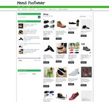 Mens Footwear Website Home Business One Years Hosting East To Run