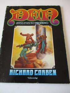 Comic-Album-DEN-Fantastische-Reise-nach-Nirgendwo-RICHARD-CORBEN-1-Aufl-1978