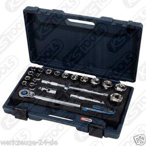 Ks-Tools-1-2-034-Chromeplus-Jeu-de-Douilles-22-tlg-Garniture-1-3-Schubflache