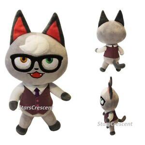 11 Animal Crossing Raymond Smug Cat Villager Plush Toy Soft Stuffed Doll Gift Ebay