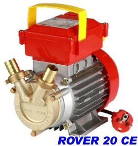 POMPA-ROVER-20-PER-TRAVASO-VINO-ACQUA-GASOLIO-Elettropompa-20-CE