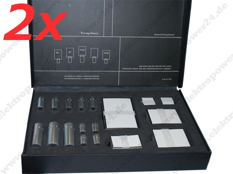 2x Led Lenser Zweibrüder Preisschilderung Preisschilder Preisgestaltung 7426