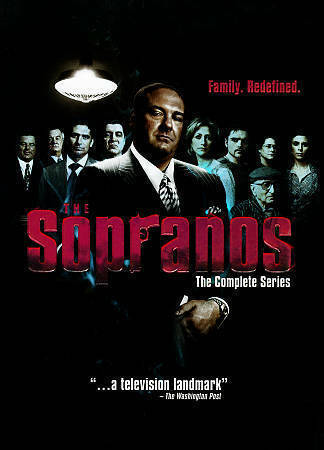 The Sopranos The Complete Series (DVD, 2014, 30-Disc Box Set)