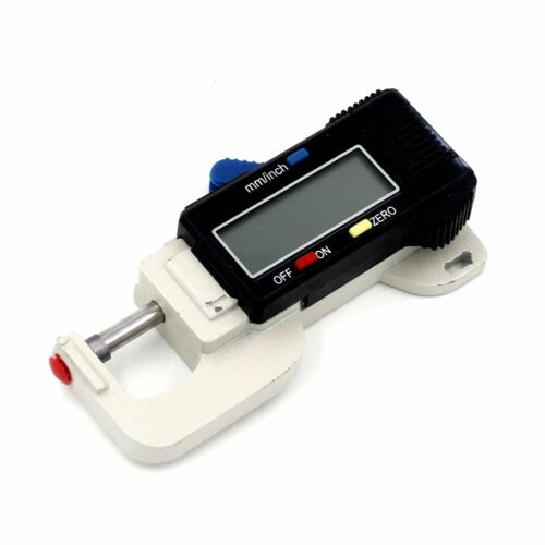 New Digital Thickness Gauge 0-14.8mm//0-0.58inch for wire sheet  jewelry leather