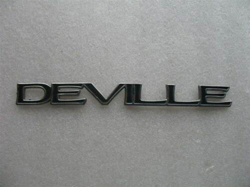 1997 CADILLAC DEVILLE SIDE DOOR EMBLEM LOGO BADGE SIGN SYMBOL 94 95 96 97 98 99