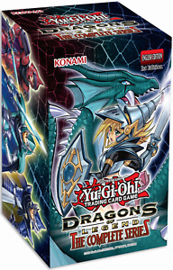 Dragons of Legend The Complete Series 1st Ed Sealed New Yu-Gi-Oh! Display of 8