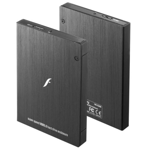 USB 3.0 Powered External 2.5 SATA Hard Drive HDD Enclosure up to 5Gbps by Frisby