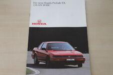 173318) Honda Prelude EX 2.0i-16V-DOHC Prospekt 198?