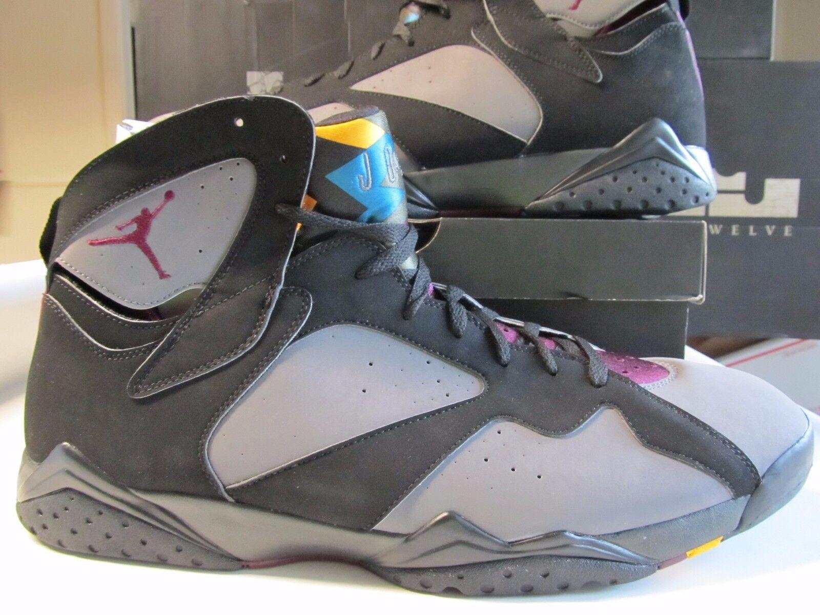 Nike Air Jordan Retro 7 VII Bordeaux Schwarz Graphit Nebel Grau 18 304775 034 Abrechnungspreis