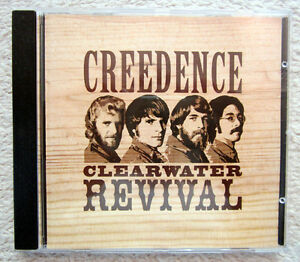 CD / CREEDENCE CLEARWATER REVIVAL / 1967-1969 / RARITÄT /