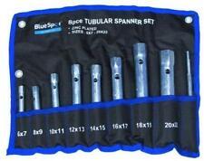 Tubular Box Spanner Wrench Set 6mm - 22mm Metric Zinc Plated BlueSpot 04308