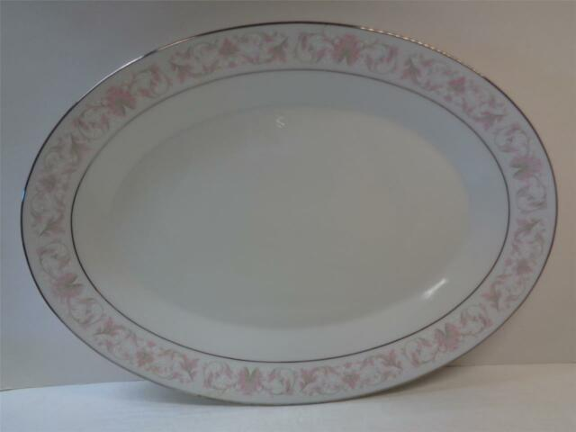 NORITAKE HARWYN 6904 fine china 14 inch Oval Serving Platter Japan : ebay china dinnerware - pezcame.com