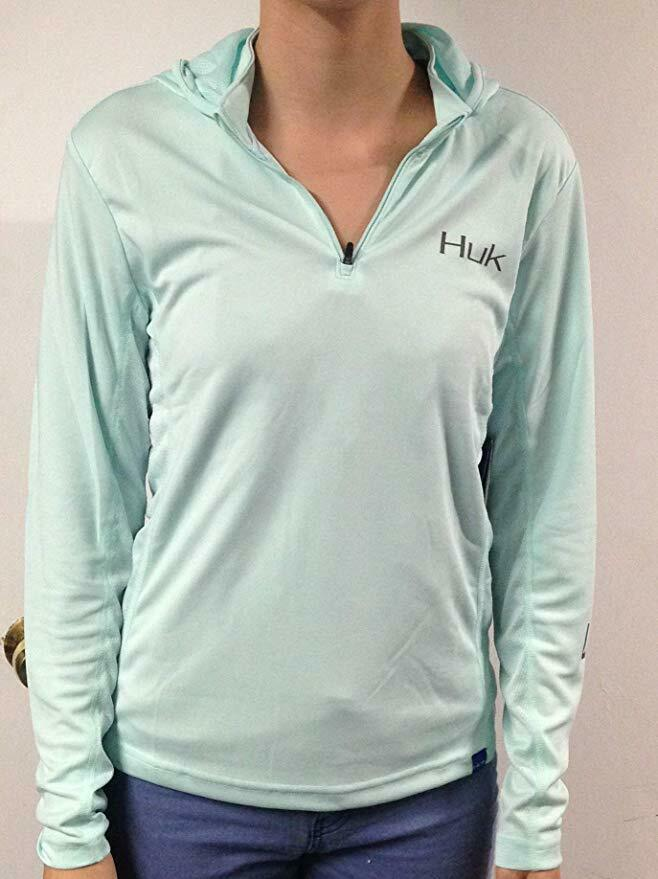 HUK H6120019-350-L  Ladies ICON X Hoodie Size  Large Sea Foam  wholesale