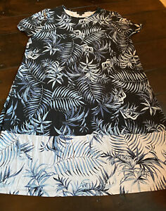 J-Jill-Wearever-Collection-Black-Floral-Dress-Stretch-Size-Large
