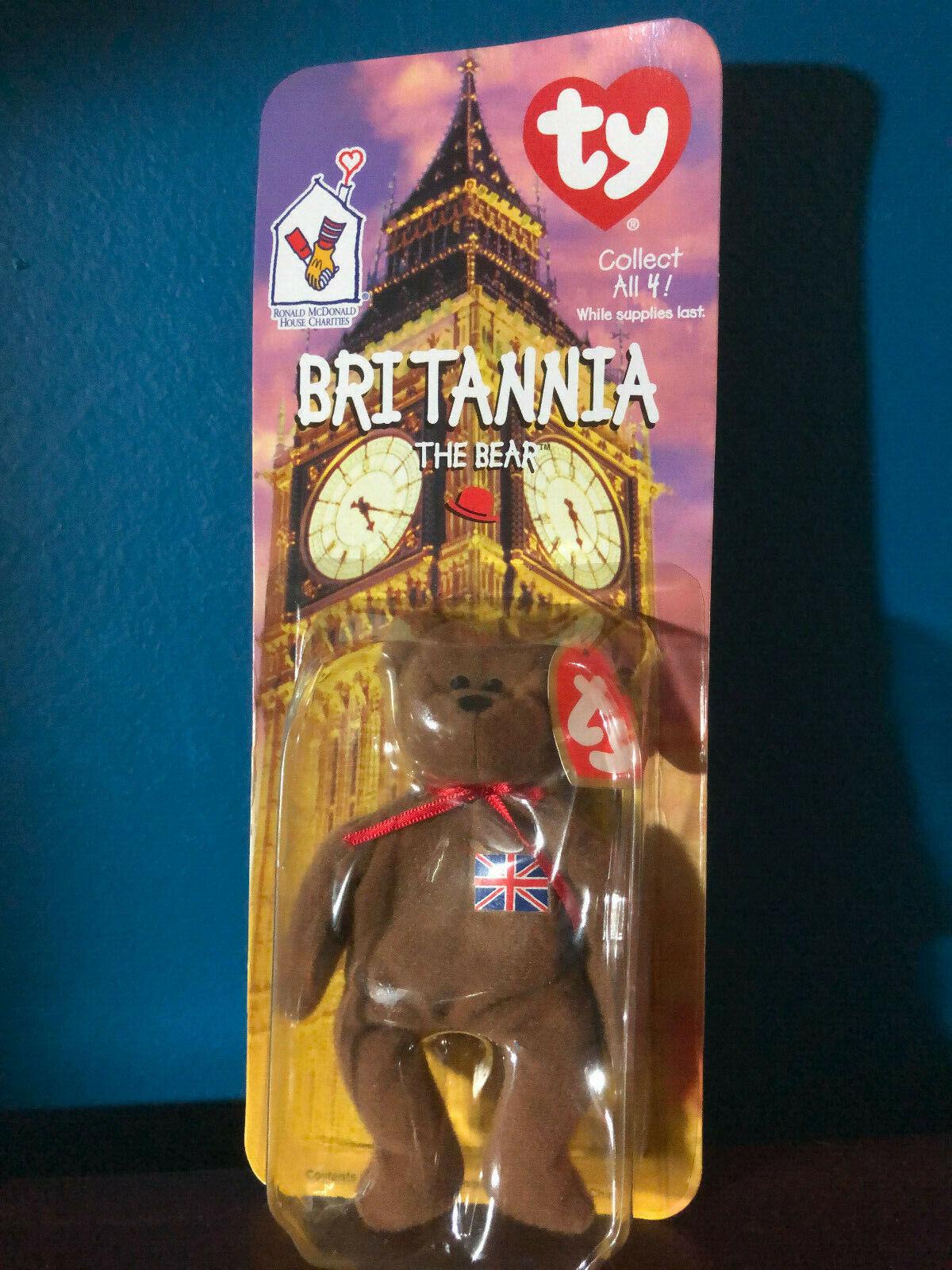 Bear Britain - 1997 McDonald 's bebé and Rare error 1993, auckbrook