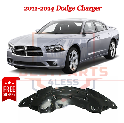 New Replacement for OE Engine Splash Shield Front fits Dodge Charger 2015-2017