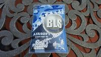 Bls Perfect Airsoft .36g Bbs White Bb 0.36g .36 0.36 6mm 1000ct